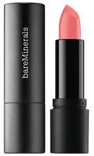 bareMinerals STATEMENT LUXE SHINE Lipstick Peach Shimmer TEASE 3.5g FULL SIZE