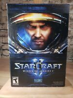 Starcraft Star Craft  II 2 Wings of Liberty PC / COMPLETE & excellent condition!