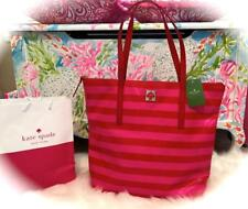 BRAND NEW ~KATE SPADE NEW YORK~ *PAMMY STREET STRIPE TOTE* Pink & Red NWT! 💕
