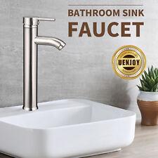 Modern Bathroom Lavatory Vessel Chrome Brass Sink Faucet with Single Handle
