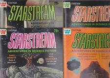 Starstream #1-4, 1976 Whitman full set 4 comics Asimov, Niven, Koontz adaptation