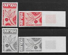 FRANCE 1965 YT 1455/1456** NON DENTELES - MNH - IMPERF - EUROPA