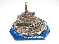 Le Mont Saint Michel Poly Modell 11 cm Frankreich Souvenir