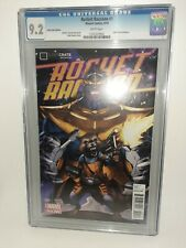 Marvel Rocket Raccoon #1 Cgc 9.2 Loot Crate Exclusive White Pages 2014 FREE SHIP