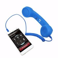 Audio Jack Volume Control Retro POP Phone Handset Speaker Mic