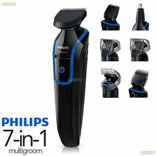 Philips Para Hombre Serie 3000 Multigroom Afeitar Cuerpo Rostro Trimmer Clipper Kit qg3337