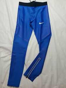 Nike Pro Elite Rosa Power Speed  Long Tights Size Medium Track and Field Rare