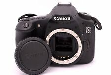 Canon EOS 60D 18.0MP Digital SLR Camera - Black (Body Only) - Shutter Count: 246