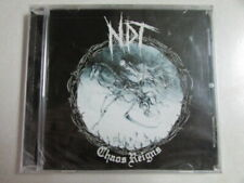 NUCLEAR DEATH TERROR CHAOS REIGNS 11 TRK 2012 CD NEW SHRINK WRAPPED METAL