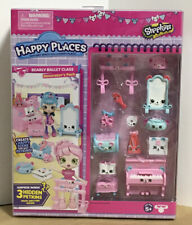 Shopkins Happy Places Bearly Ballet Class Decorator's Pack Shipping Included New