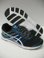 ASICS T3N0Q GEL Storm Performance Running Racing Shoes Black White Mens 12
