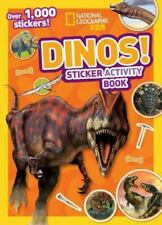 National Geography Kids Dino's Sticker Activity Book