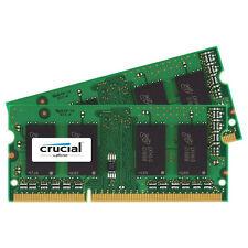 Crucial Mac 8GB Kit 4GB x2 DDR3L 1600 PC3-12800 SODIMM Memory Ram CT2K4G3S160BM