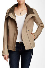 7 For All Mankind Genuine Suede Leather Jacket Large Seven For All Mankind