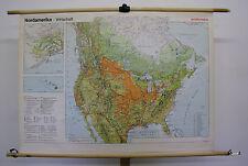 School Wall Map Wall Map Map North America North America 136x98c economy Map