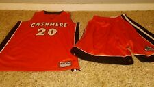 INTREPID SPORTSWEAR CASHMERE # 20 JERSRY AND SHORTS SET XL VERY SLIGHTLY USED
