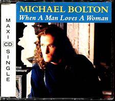 MICHAEL BOLTON - WHEN A MAN LOVES A WOMAN - CD MAXI [1991]