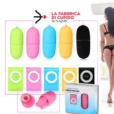 Vibratore Ovetto Ovulo Vibrante Vaginale Mult Velocità Comando tipo MP3 Wireless