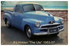 FJ HOLDEN UTE Vintage Tin Sign  'THE UTE' 1953-1957 20 x 30 cm