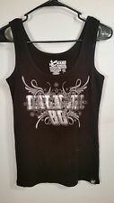 Womens Chase Authentics NASCAR Size S Small Dale Jr. #88 Tank Top Black shiny
