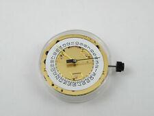 ETA 251.274 Swiss Quartz Watch Movement - MZETA251.274 Date @ 4H Gold Plated