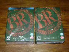 Battle Royale [Limited Edition to 10,000] Blu-ray ABC 3-Disc Box Set Rare OOP