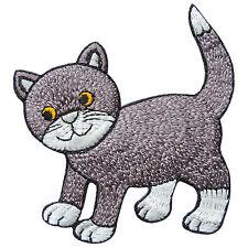 Cute Cat Kitty Kitten Pet Cartoon Animal Kids Children Iron-On Patches #A056