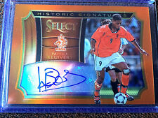 2015 -16 Select Soccer - Patrick Kluivert Historic Signatures # /149 Netherlands