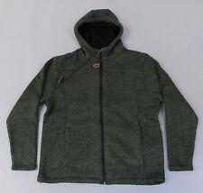 Stoic Men's Sherpa-Lined Sweater Fleece Jacket MC7 Dark Leaf SIC007P Medium NWT
