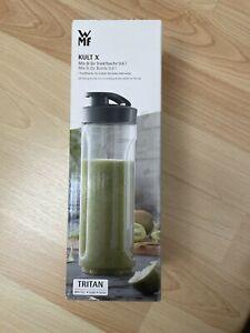 WMF Kult X Mix & Go Trinkflasche 0,6 Liter Neu