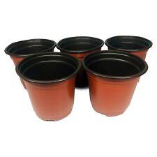Anzuchttöpfe Blumentöpfe Pflanzentöpfe Ziehtopf in Braun 10er 20 oder 50er Pack