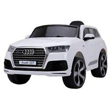Lizenz Kinder Elektro Auto Audi Q7 Kinderauto 12V Fernbedienung MP3 Beleuchtung