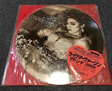 Madonna - Like a Virgin Japan Official LP Picture Disc 1983 Pic Japanese P-15003