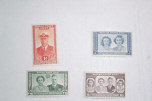 GEORGE VI 1947 ROYAL VISIT BECHUANALAND  UN MOUNTED MINT
