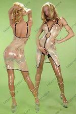 732 Latex Rubber Gummi braces suspender skirts strap slip dress customized 0.4mm
