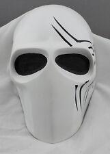 Fiber Resin Mesh Eyes Airsoft Paintball Full Face Protection Mask Halloween