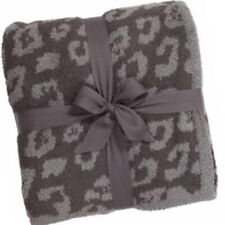 Barefoot Dreams Wild Throw in Graphite & Carbon Cozy Chic.