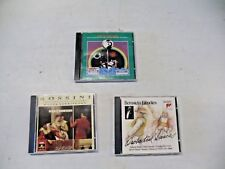 3 VERY NICE CD  Bach Live   Rossini Overtures  Bernstein Favorites