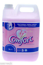 2 x Comfort Lily & Rice Flower Fabric Conditioner Softener 45 Washes 5L