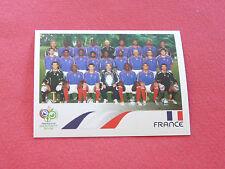 454 EQUIPE TEAM FRANCE PANINI FOOTBALL GERMANY 2006 WM FIFA WORLD