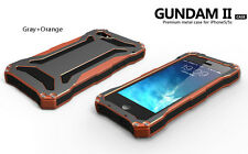 Waterproof Shockproof Gorilla Glass Aluminum Metal Case Bumper For Apple iPhone
