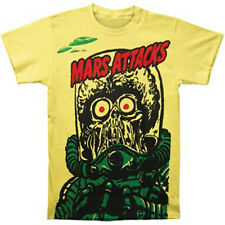 MARS ATTACKS - Big Yellow Martian T-shirt - NEW - LARGE ONLY