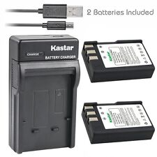 Kastar EN-EL9 Battery & SLIM USB Charger for Nikon D40 D40x D60 D3000