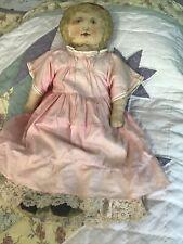 antique doll cloth printed blond Original Period Cloth Art Fabric Mill 1900. 25�
