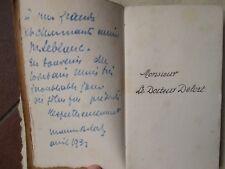 DELORT : DISCOURS DES DOCTEURS RECAMIER, etc., 1931. 400 exemplaires signé.