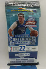 2021 Panini Contenders Basketball NBA Cards SEALED Value / Cello / Fat Pack