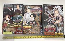 Demon Slayer Kimetsu no yaiba vol 20 to 22 manga book limited 3 set jump comics