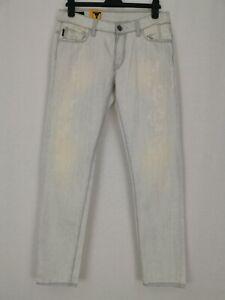 BNWT G-Star Raw Dexter Low Tapered Jeans W-31 L-32 Denim Lightwash Aged Destroy