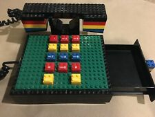 Vintage Tyco Lego Telephone With Drawer