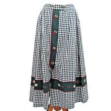 Oktoberfest Womens Skirt Size 40 Original Alphorn Tracht German Fashion